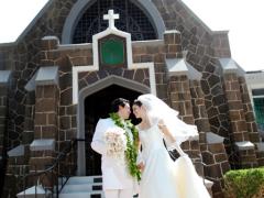 ハワイ 本格挙式(ウェディング) エピファニーエピスコパル教会(挙式&事前打合せ・撮影)