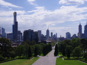 View from Shrine of Remembrance (392, 372, 372L, 352, 397, 322H)