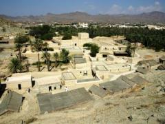 山々に囲まれた村「ハッタ」
