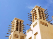 伝統的なアラブのウィンドタワー