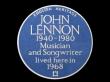 TTRLennon-blue-plaque