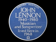 TTRLennon-blue-plaque
