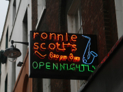 AM ronnie scott's sign