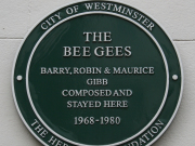 PM Bee Gees plaque
