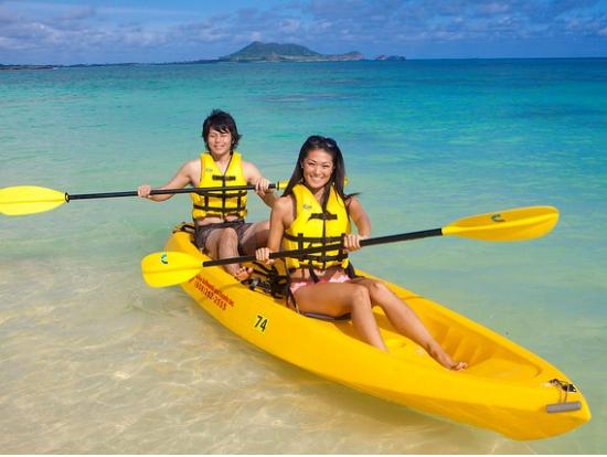 Lanikai Beach Kayak Tour