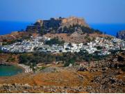 ロドス島の遺跡リンドス