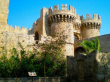 ロドス島-中世の城