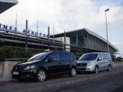 レンヌ空港、送迎車