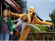 Meet n Greet in Disneyland Railroad