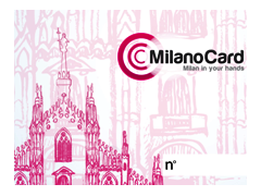 MILANOCARD carta front trasparente