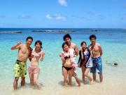 海と参加者6人