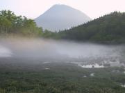 朝霧の二の沼