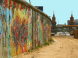 berlin wall bike