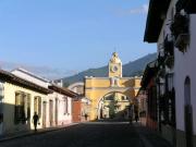 アンティグアの町並み