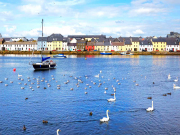 Connemara Tour Galway city  river Corrib