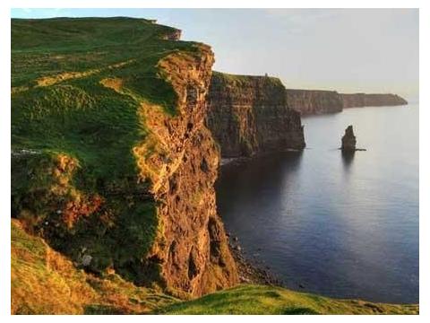 Cliffs of Moher Tour- Cliffs vista