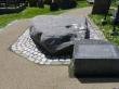 Belfast tour- Downpatrick- St Patricks grave slab