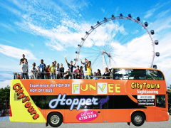 Open Top Bus with Flyer