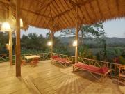 Lisu Lodge terrace