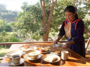 Lisu Lodge breakfast