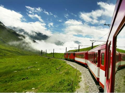 スイス列車の旅