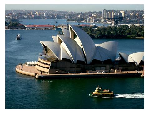 オペラ・ハウス/シドニー市内観光