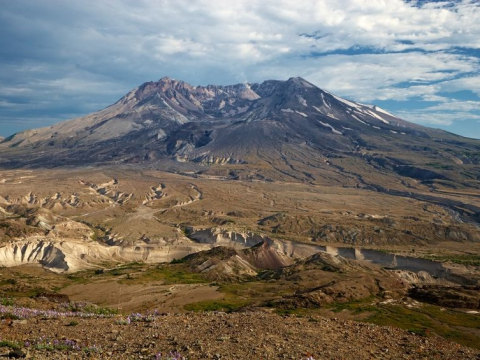 セントへレンズ火山国定公園