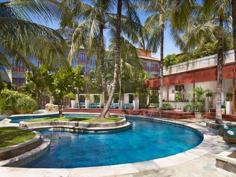 ハードロックホテル「Hard Rock Hotel Bali」スパ・デイユース お子様は2名まで無料!<部屋+プール+ディナー付/往復送迎付/クタ地区>