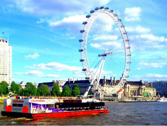 倫敦自由行5天4夜-泰晤士河遊船