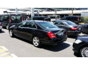 S CLASS,E CLASS,AT THE AIRPORT