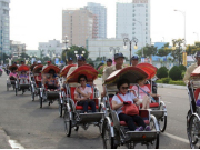 Traditional cyclo in Ho Chi Minh