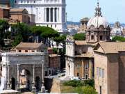 Forum, Capitoline hill and Vittoriano panorama