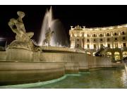 Repubblica square by night  (1)