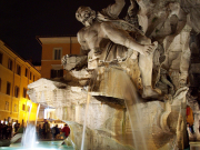 Four Rivers fountain - Navona Square