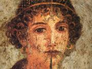 Pompeii House detail