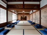 Meditation hall in Shourinji Temple