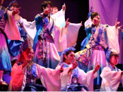 Japanese fusion theater show at Kaguwa