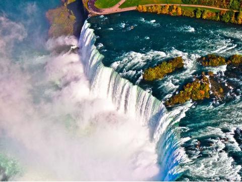 ニューヨーク発 ナイアガラの滝観光