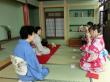 A classic Japanese tea ceremony