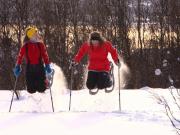 Snowshoes at tromsテクya