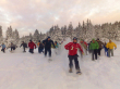 Snowshoes group