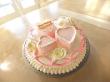 Triple Heart Cake $275