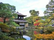 Ginkakuji in the autumn