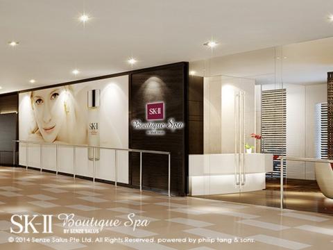 「SK-II Boutique Spa」SK-llブティック・スパ 予約必至の大人気スパ<Shaw Centre店>