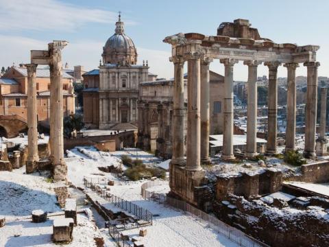 ローマ市内観光