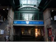 ベルリンのカフェスタイル、集合場所となる駅