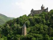 ライン川と古城ワイナリー3