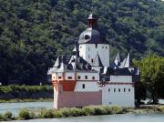 ライン川と古城ワイナリー5