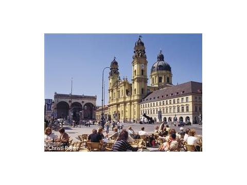 レジデンツとミュンヘン旧市街5