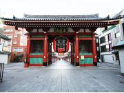 Kaminarimon gates of Asakusa
